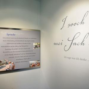 Man sieht verschiedene Exponate im Heimatmuseum von Buchenbach