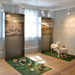 Ausstellungsstücke im Heimatmuseum in Buchenbach.